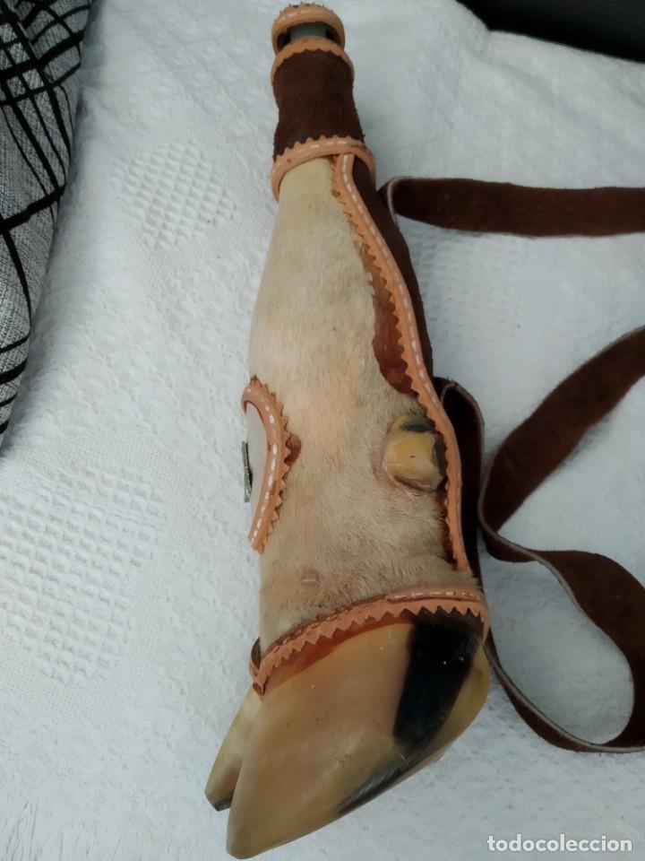 Antigüedades: Botella del cazador ! - Foto 4 - 155379770