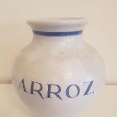 Antigüedades: JARRON CERAMICA TALAVERA CON FIRMA. Lote 155388998