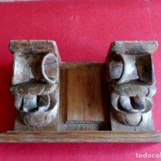 Antigüedades: 2 MÉNSULAS MUY ANTIGUAS. Lote 155397826