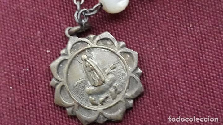 Antigüedades: ROSARIO NACAR Y PLATA - Foto 2 - 154371146