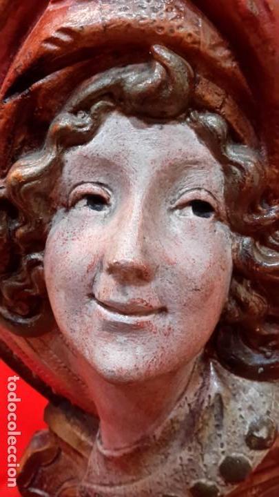 JARRON. TERRACOTA POLICROMADA. FRMA Y AÑO (Antigüedades - Porcelanas y Cerámicas - La Bisbal)