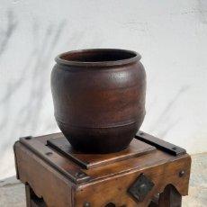 Antigüedades: CANTARERA DE MADERA CON TINAJA. Lote 155442014