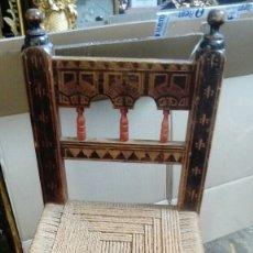 Antigüedades: SILLA SIGLO XVIII. Lote 155447900