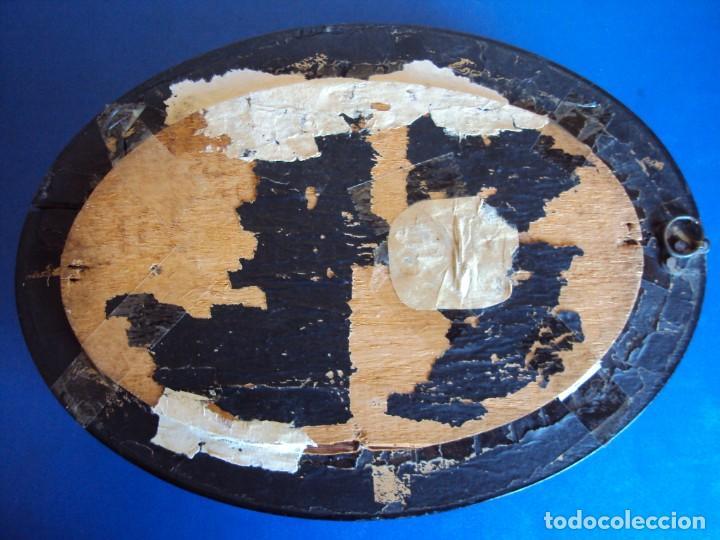Antigüedades: (ANT-190347)RELICARIO GRANDES DIMENSIONES S.LUIS GONZAGA - MADERA Y CRISTAL OVALADO - Foto 9 - 155467994