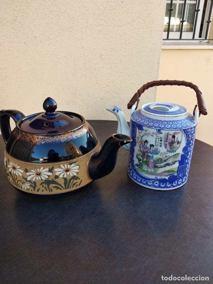 LOTE DE TETERAS CHINAS (Antigüedades - Porcelanas y Cerámicas - China)