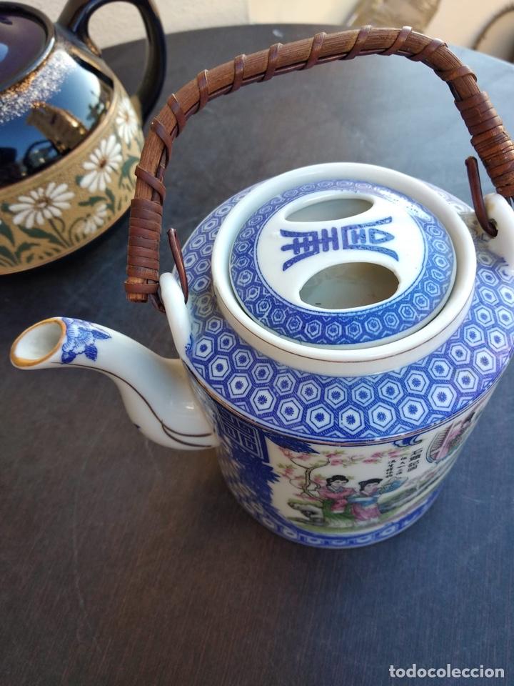 Antigüedades: Lote de teteras chinas - Foto 6 - 155470104