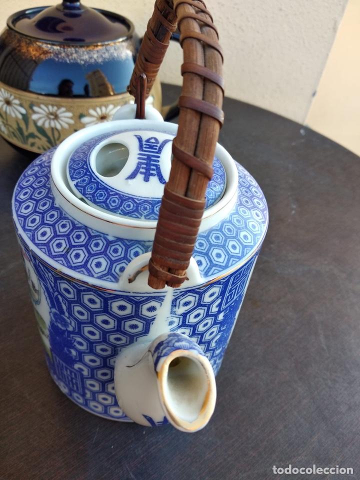 Antigüedades: Lote de teteras chinas - Foto 10 - 155470104