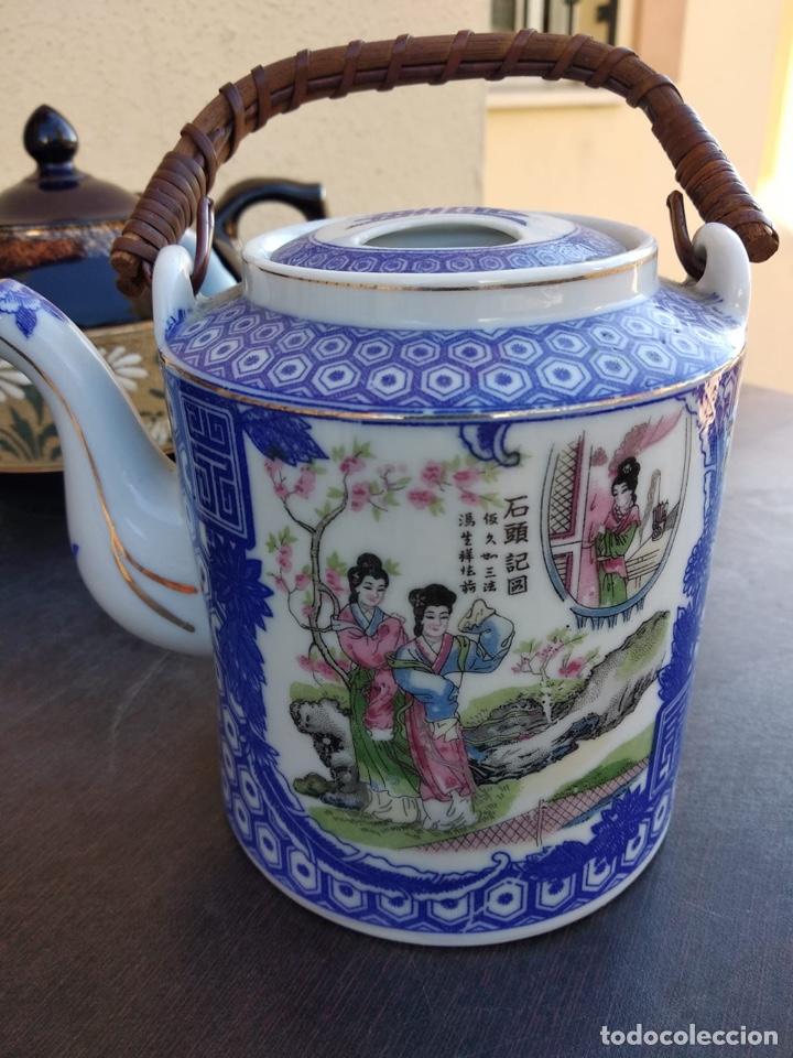 Antigüedades: Lote de teteras chinas - Foto 12 - 155470104