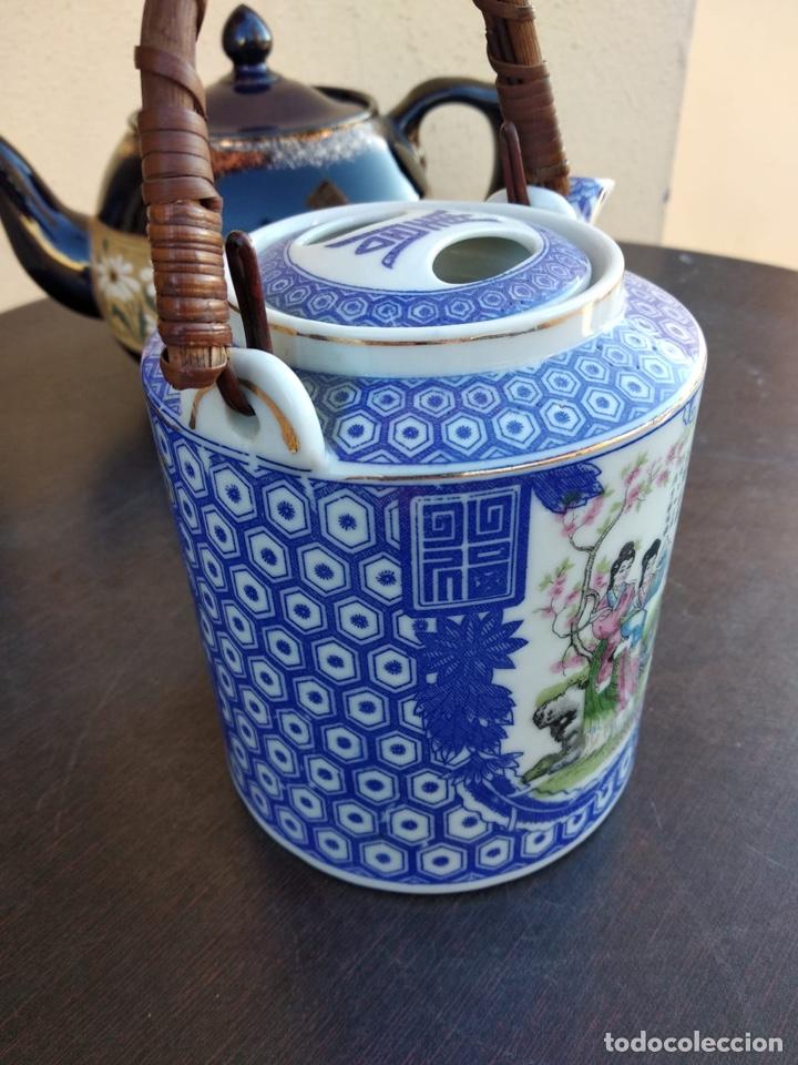 Antigüedades: Lote de teteras chinas - Foto 15 - 155470104
