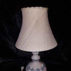Antigüedades: LAMPARA MINUE FLORELIA DE LLADRÓ 1979-1981 DESCATALOGADA. Lote 155483862