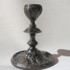 Antigüedades: CANDELABRO DE FUNDICION HANAU ALEMANIA 1890-1899. Lote 155490302