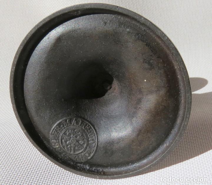 Antigüedades: CANDELABRO DE FUNDICION HANAU ALEMANIA 1890-1899 - Foto 3 - 155490302