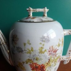 Antigüedades: MUY RARA TETERA DE PORCELANA PICKMAN CHINA OPACA 1900 LEER. Lote 155500404