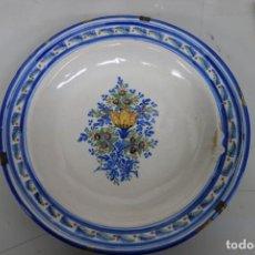 Antigüedades: PLATO DE CERÁMICA DE RIBESALBES DEL SIGLO XIX. Lote 155508346