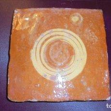 Antigüedades: ANTIGUO AZULEJO POPULAR TERRISSA - S.XVIII-XIX LA BISBAL O MATARÓ ORIGINAL ( NO REPRODUCCION ). Lote 155585714