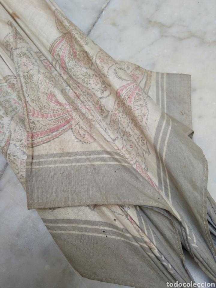Antigüedades: Sombrilla seda señora siglo XIX - Foto 2 - 155590188