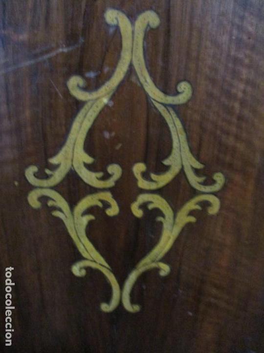 Antigüedades: Armario Empotrado - Barroco Catalán - Madera de Nogal - Puertas con Marquetería en 2 Caras -S. XVIII - Foto 21 - 155594662