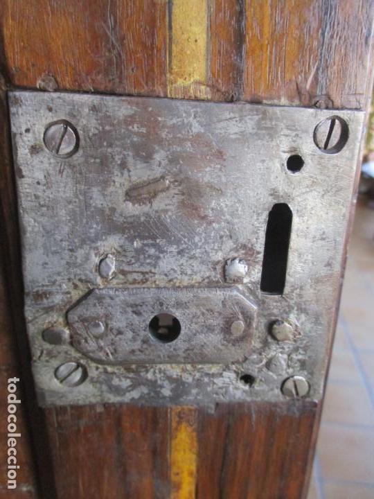 Antigüedades: Armario Empotrado - Barroco Catalán - Madera de Nogal - Puertas con Marquetería en 2 Caras -S. XVIII - Foto 23 - 155594662