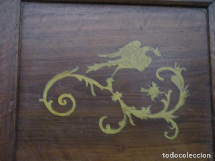 Antigüedades: Armario Empotrado - Barroco Catalán - Madera de Nogal - Puertas con Marquetería en 2 Caras -S. XVIII - Foto 25 - 155594662