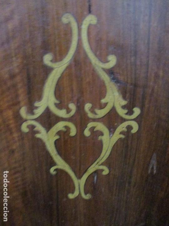 Antigüedades: Armario Empotrado - Barroco Catalán - Madera de Nogal - Puertas con Marquetería en 2 Caras -S. XVIII - Foto 26 - 155594662
