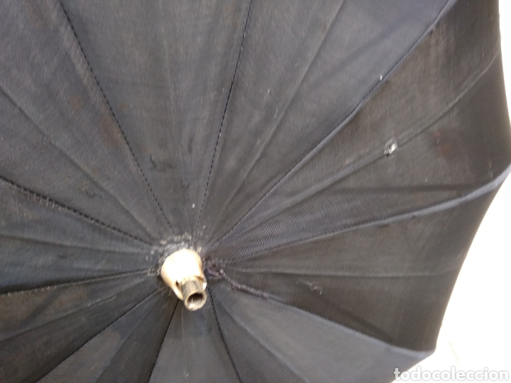 Antigüedades: Sombrilla seda siglo XIX - Foto 4 - 155595960