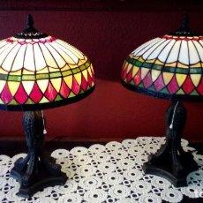 Antigüedades: PAREJA DE LAMPARAS-. Lote 155608038
