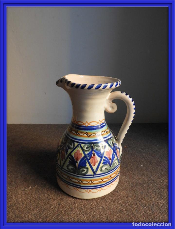 JARRA DE CERAMICA VIDRIADA PUENTE DEL ARZOBISPO (Antigüedades - Porcelanas y Cerámicas - Puente del Arzobispo )