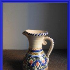Antigüedades: JARRA DE CERAMICA VIDRIADA PUENTE DEL ARZOBISPO. Lote 155610322