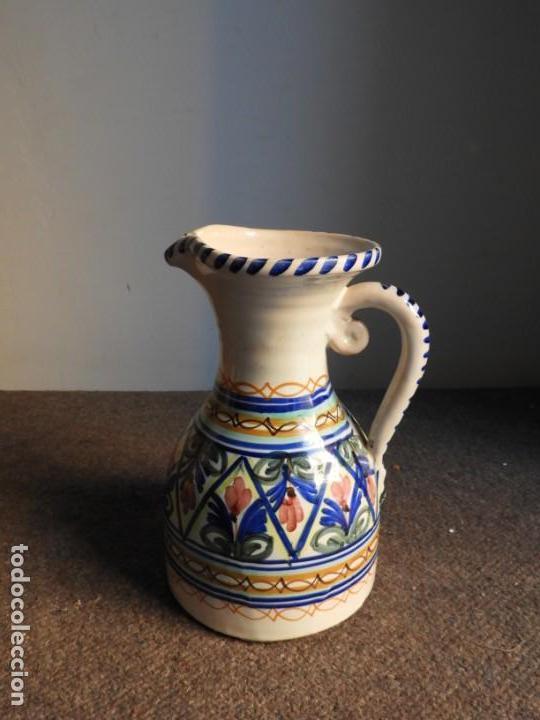 Antigüedades: JARRA DE CERAMICA VIDRIADA PUENTE DEL ARZOBISPO - Foto 8 - 155610322