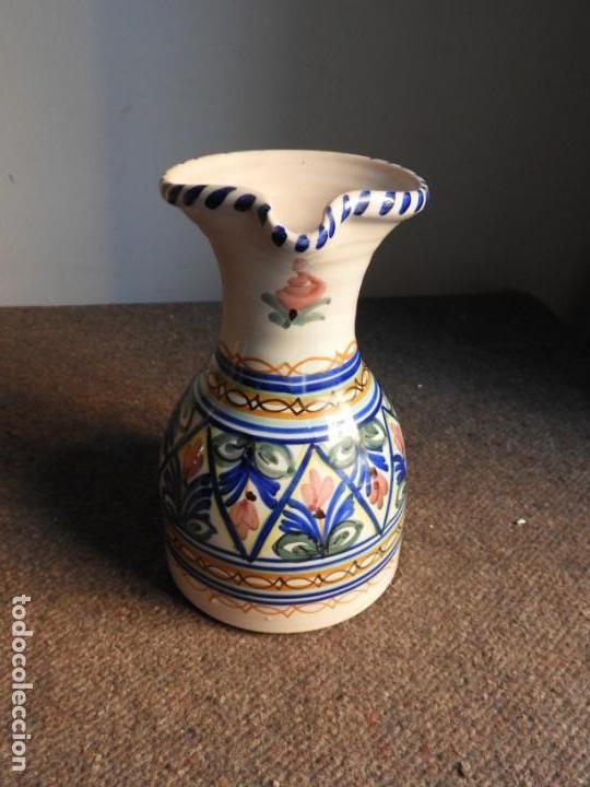 Antigüedades: JARRA DE CERAMICA VIDRIADA PUENTE DEL ARZOBISPO - Foto 2 - 155610322
