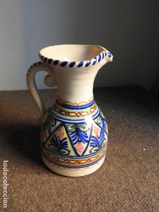 Antigüedades: JARRA DE CERAMICA VIDRIADA PUENTE DEL ARZOBISPO - Foto 3 - 155610322