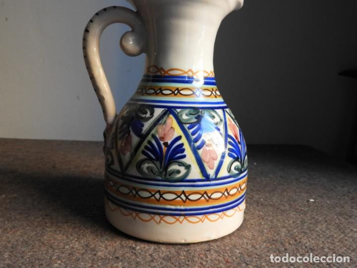 Antigüedades: JARRA DE CERAMICA VIDRIADA PUENTE DEL ARZOBISPO - Foto 4 - 155610322