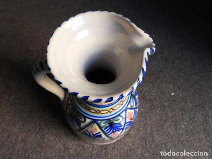 Antigüedades: JARRA DE CERAMICA VIDRIADA PUENTE DEL ARZOBISPO - Foto 5 - 155610322