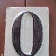 Antigüedades: AZULEJO TRIANA NUMERO. Lote 155614050