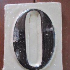 Antigüedades: AZULEJO TRIANA NUMERO. Lote 155614186