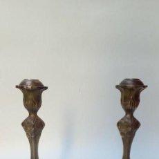 Antiques - candelabros pareja - 155612034