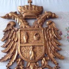 Antigüedades: ESCUDO HERÁLDICO. Lote 155615273