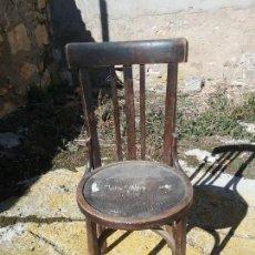 Antigüedades: SILLA DE IMPRENTA. Lote 155641074