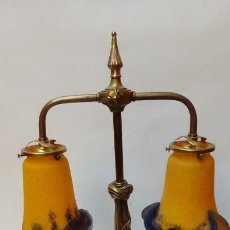 Antigüedades: LAMPARA DE MESA. Lote 155644218