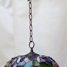 Antigüedades: LAMPARA DE TECHO . Lote 155648498