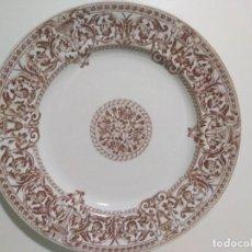 Antigüedades: PICKMAN P Y C PLATO SIGLO XIX. Lote 155691950
