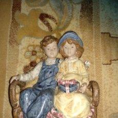 Antigüedades: FIGURA PORCELANA LEVANTINA. Lote 155697762