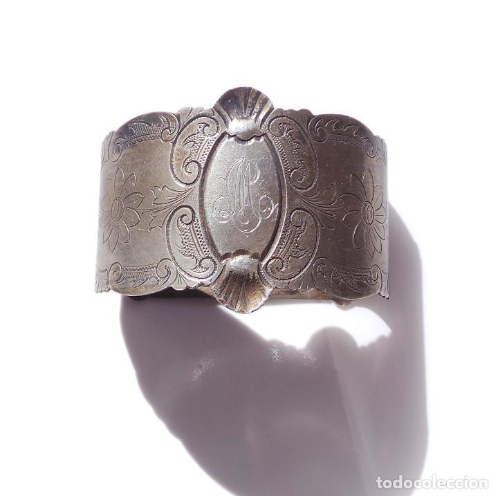 Antigüedades: PAREJA DE SERVILLETEROS ANTIGUOS - Foto 5 - 155697830