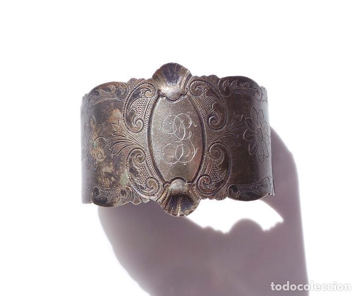 Antigüedades: PAREJA DE SERVILLETEROS ANTIGUOS - Foto 10 - 155697830