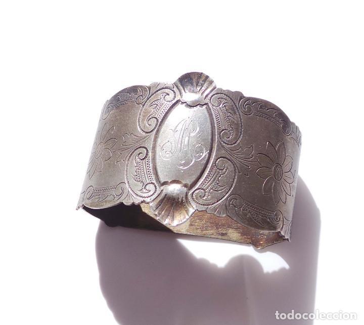 Antigüedades: PAREJA DE SERVILLETEROS ANTIGUOS - Foto 13 - 155697830
