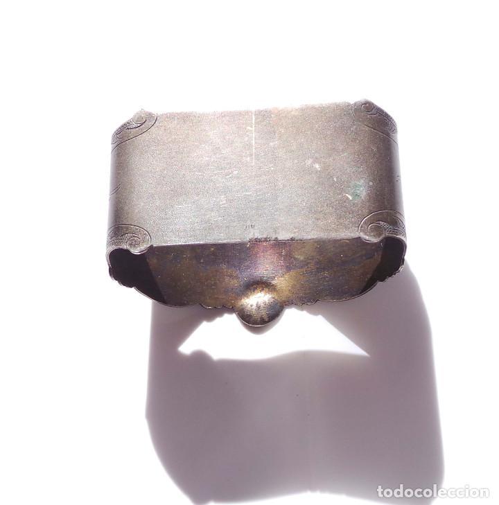 Antigüedades: PAREJA DE SERVILLETEROS ANTIGUOS - Foto 16 - 155697830