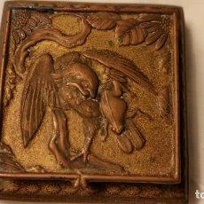 Antigüedades: ANTIGUA CAJA PARA SELLOS . Lote 155702634