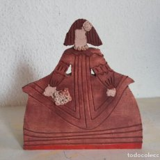 Antigüedades: FIGURA DE BARRO, O CERÁMICA DE MENINA. Lote 155714894