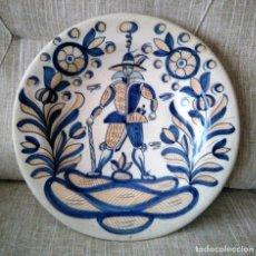 Antigüedades: ANTIGUO PLATO DE CERÁMICA DE TALAVERA. Lote 155733950