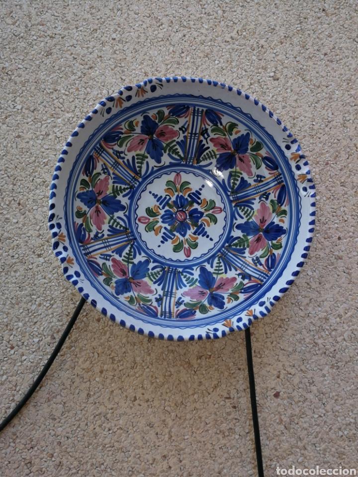 PLATO ANTIGUO DE LARIO (Antigüedades - Porcelanas y Cerámicas - Lario)